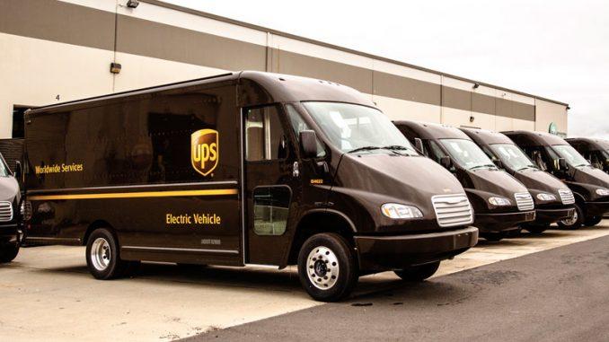 UPS flota eléctrica