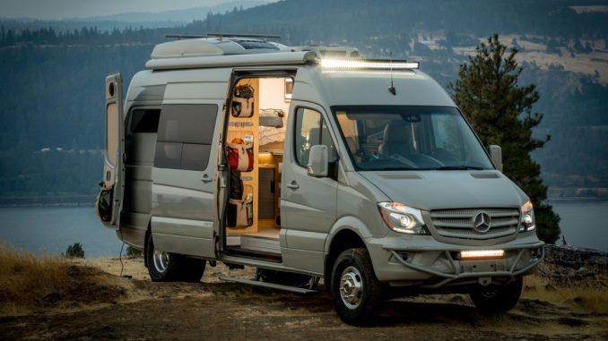 La Sprinter de Mercedes es una de las favoritas para la aventura y el excursionismo