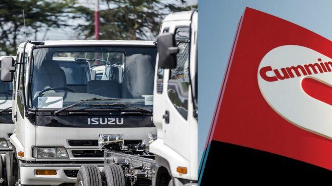 Isuzu y Cummins se unen por motores diesel menos contaminantes
