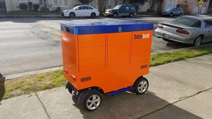 Robot de entrega Boxbot