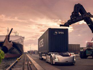 Camión autónomo de Volvo