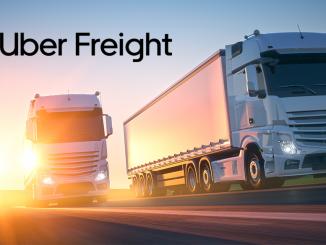 Camiones de Uber Freight