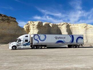 Camión de Land O'Lakes autónomo